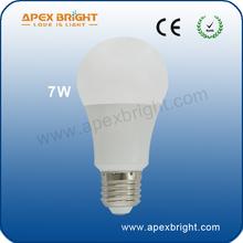 7w E27 mini led lights for fabric led bulb xiamen