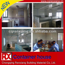 RX Sandwich Panel Movable Prefabricated Office Container Price For Sale