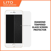 0.33mm diamond tempered glass screen protector for iphone 6/6 plus