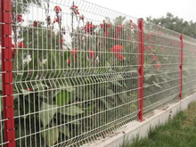 Alibaba China PVC Coated Metal Wrought Iron Cheap Garden Fence