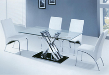 Modern home and restaurant glass dining table T755