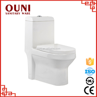 ON-818 2015 Innovative products water-efficient one piece ceramic heated toilet seat