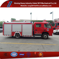 New Products Emergency Rescue 4000L 4*2 Fire Fighting Foam Truck