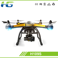 New arrival RC Drone 5.8G FPV 6 Axis RC Quadcopter With HD Camera Monitor RTF and LED quad copter