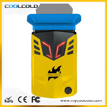 Game style cooling equipment usb powered laptop cooler, portable laptop cooling system