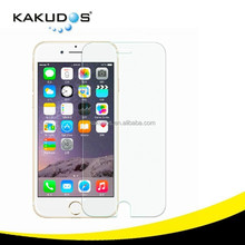 Kakudos 9H Hardness 0.33mm tempered Glass screen protector for iphone 6