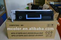 good price copier drum unit / IU for canon gpr-25/npg-37/c-exv-23