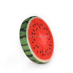 Fancy Dog Kennels Fruit Pad Kiwi Watermelon Orange Short Plush Decorative Dog Indoor Houses