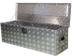 Household Portable Aluminum Tool Case with Top Plastic Handle OEM 004