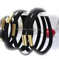 2015 Yiwu wholesale women fashion multi elastic hair bands