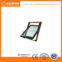 Aluminium roof window good designs and high quality surface