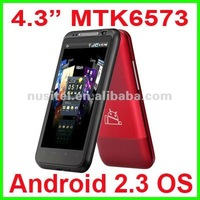 4.3 inch Android Smart Phone MTK6573 3G+GPS+Bluetooth+FM+WiFi