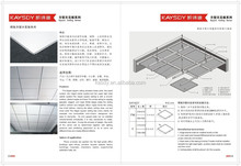 Powder coated and paint coated aluminum ceiling tiles