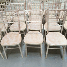 UK Style Wholesale Tiffany Chair Lime Wash Color/Chiavari Chair