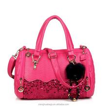 Fashional and good quality ladies genuine leather handbag