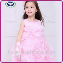niña de las flores vestido de princesa los niños trajes de danza con perla