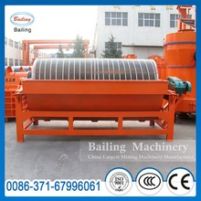 Magnetic ore separator for hematite iron ore concentration