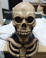 Soil color skeleton skull mask self disguise scary prank cosplay