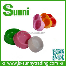 Custom different shaped biodegradable plastic dog bowl pet bowl feeder for the pet