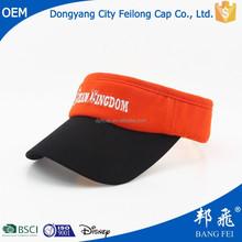 summer hot sale cheap promotional children sun visor hat and caps