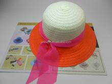 new design women paper straw hat