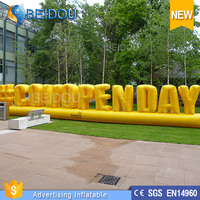 Customized Giant Sample Inflatable Advertising Business Letters for Open Day
