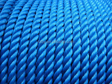 ship activity use factory product 3 strand 45 mm twist colorful polyethylene rope