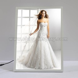 New products 2015 photo light box tabletop LED light up picture frame