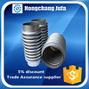 flange connector malleable iron pipe fitting bellows type metal compensator
