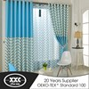 Finished products popular european printing window curtain fabric