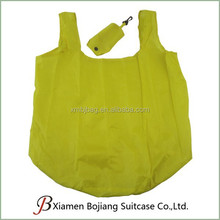 T-Shirt foldable shopping bag With Small Pocket, Foldable Tote Bag