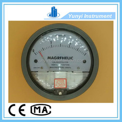 4 inch differential pressure gauge bourdon tube