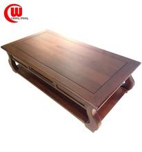 postmodernism solid wood long side coffee table