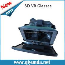 NEW 3D Glass VR Plastic Edition Head Mount Virtual Reality Active Oculus Rift Cardboard for 3.5~6inch mobile phone