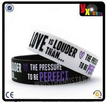 LOVE IS LOUDER THAN PRESSURE PERFECT DEMI LOVATO WRISTBAND BRACELET PURPLE/acrylic photo frame