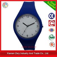 R1096 Free sample printed logo silicone original jelly watch, strap changeable silicone original jelly watch