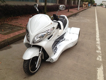 China Jinling hot 300cc EEC reverse trike motorcycle for adults street legal atv on road