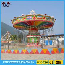Splendid outdoor adventure rides park ride cheap amusement rides amusement flying swing chair