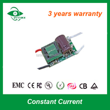 china supplier open frame constant current power supply dc 700mA 3*3w LED driver