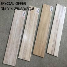 15X60 porcelain wood design ceramic floor tile