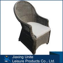 Aluminum+rattan ikea wicker chair/rattan chair