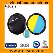 wholesale velcro catch set promotional beach throw catch ball set