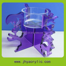 Ben in plastica di vendita elefante supporto di candela/candela fiore di loto titolare grossista supporto di candela