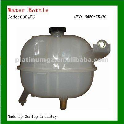 Hiace piezas 000408 botella de agua para hiace de soldadura KDH 200 botella de agua con tapón de 16480 - 75070