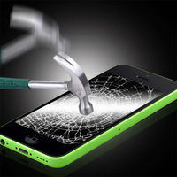 $1/Piece Manufacturer Price 2.5D 9H Premium Tempered Glass screen protector for iPhone 5 5C 5S Accessories Welcome OEM/ODM