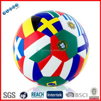 Colorful high quality soccer ball and goal