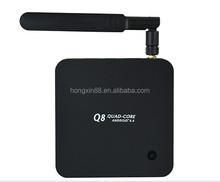 Vspeed google tv box android mini pc Quad Core RK3288 1.8GHz Q8 android 4.4 xbmc skype wifi support HD 4K decoding HD265