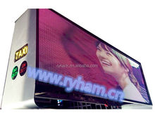 LightS top quality alibaba express taxi top led P41172/taxi top led screen/advertising display for car /taxi top led display