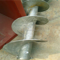 Stainless steel spiral auger screw blade feeder