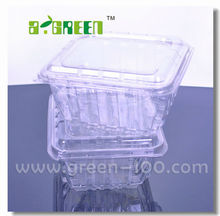 Custom order Transparent Plastic Container for food